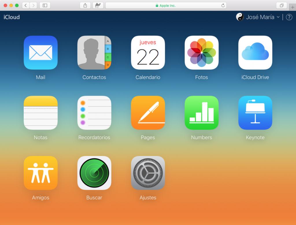 Notas en iCloud Beta