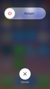 Apagar o reiniciar iPhone